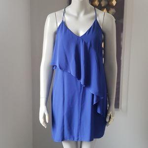 Amanda Uprichard Ruffled Mini Dress Small
